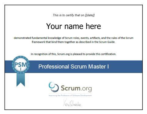 Scrum сертификация лекции документирование и сертификация 230115