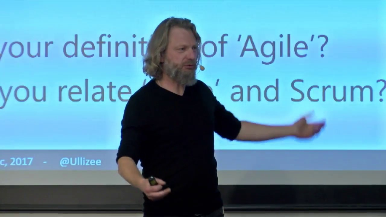 Gunther Verheyen - Scrum, BrainRain 2018