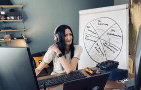 Магдалена Фірліт: як я вперше проводила тренінг онлайн