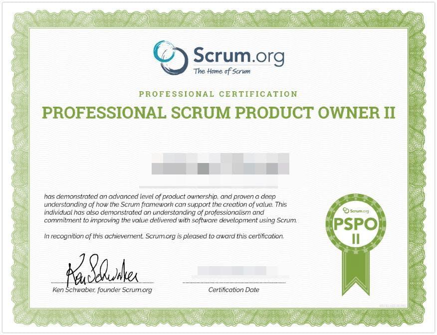 pspo 2 от scrum.org